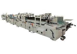 Скоростная автоматическая фальцевально-склеивающая линия ES-780 - фото