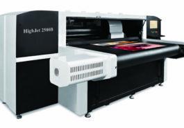 Высокоскоростной сканирующий цифровой принтер HighJet 2500B - фото