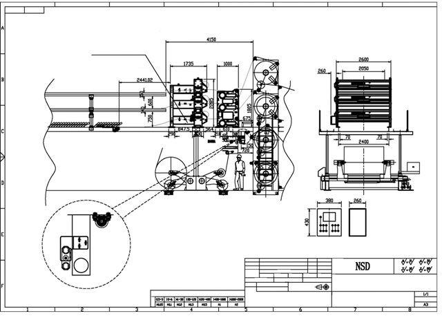 Автоматическое устройство выравнивания полотна NSD