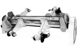 WZJ-A Электромеханический раскат для бобин (двухбобинный) - фото