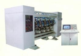 Компьютеризированный станок продольной резки-рилевки - фото