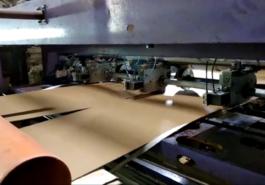 Рилевочно-резательный станок с тонкими ножами - фото